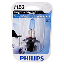 Автолампа HB3 9005 Philips 12V 55W Crystal Vision блистер 9005 CV